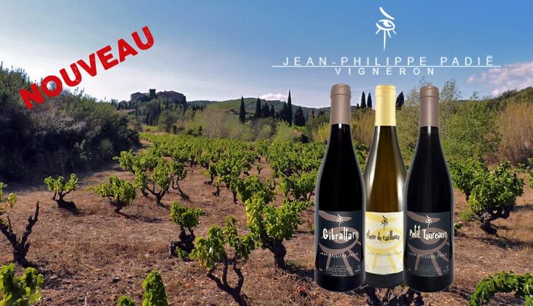 Les vins de Jean Philippe Padié chez QCQBM La Cave