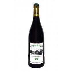 L'Oublié - Jeff Coutelou - Solera - vin naturel