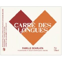 Le Carré des Longues 2018 - Renaud Scarlata - vin rosé naturel