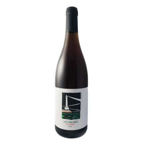 Les Salines 2019 - Eric Pfefferling et Brice Bolognini - Mas Mellet - Carignan - vin naturel