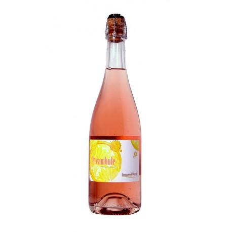 Préambule 2018 - Emmanuel Haget - Pétillant naturel rosé - bio - Pineau d'Aunis - Saumur - bulles - pet'nat'