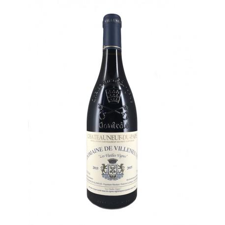 Les Vieilles Vignes 2015 - Châteauneuf-du-Pape - Stanislas Wallut - Domaine de Villeneuve - vin naturel