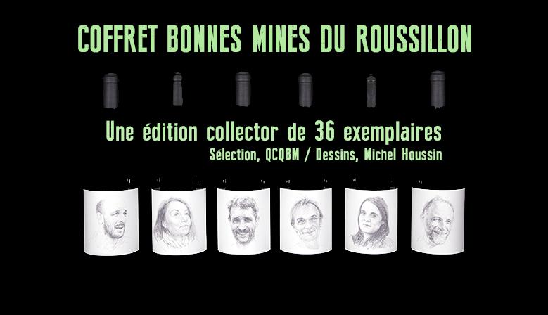 souscription au coffret Roussillon d'artiste. Edition des trois ans de QCQBM La Cave