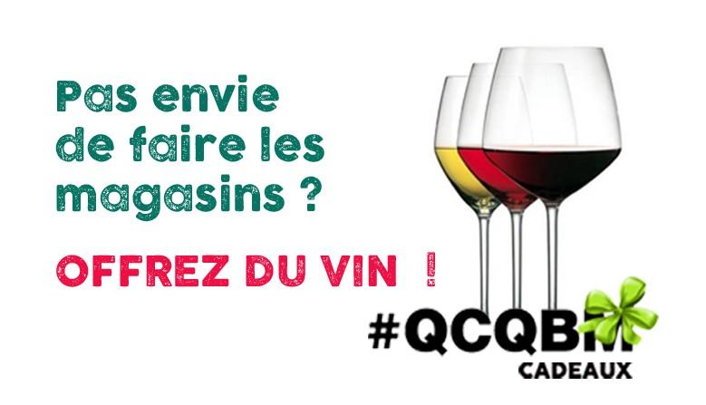 Offrez du vin !
